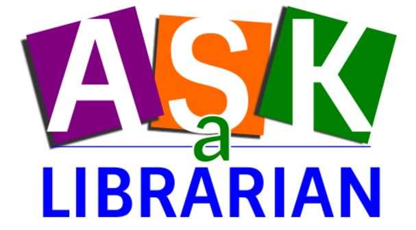 logo for ask a librarian