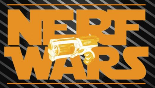 Bring your own Nerf Gun with ammo and prepare to go to war. For more  details, please contact Stephanie.